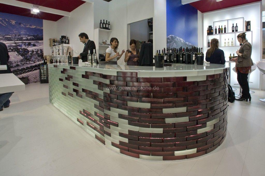 glasbausteine mattone projekte bars theken 1 - Dusche Mauern Glasbausteine