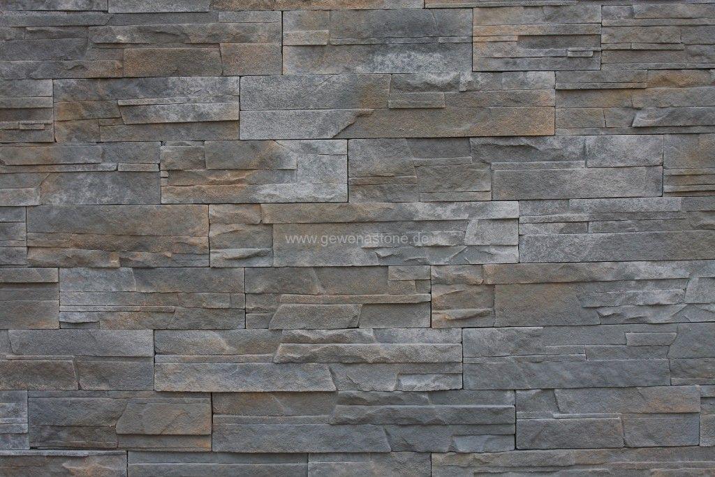 moderne Steinwand für den Selbsteinbau, Steine an die Wand kleben ...