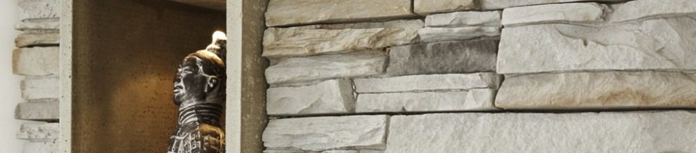 Moderne Steinwand für Ihr Wohnzimmer, Schlafzimmer neu mit Steinen ...